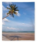 Ban Harn Beach Fleece Blanket