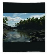 Banana River Fleece Blanket