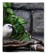 Bandit Birds Fleece Blanket