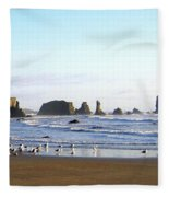 Bandon 36 Fleece Blanket