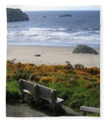 Bandon 6 Fleece Blanket