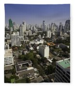 Bangkok - Thailand Fleece Blanket