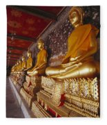 Bangkok, Wat Suthat Fleece Blanket