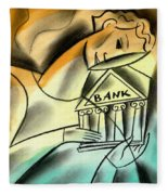 Banking Fleece Blanket