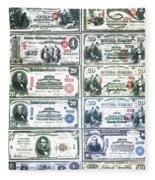 Banknotes Fleece Blanket