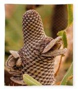 Banksia Cone 2 Fleece Blanket