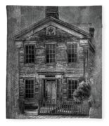 Bannack School  Fleece Blanket