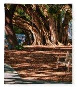 Banyans - Marie Selby Botanical Gardens Fleece Blanket