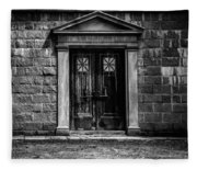 Bar Across The Door Fleece Blanket
