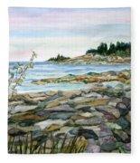 Bar Harbor Fleece Blanket