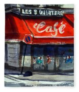 Bar Les 3 Quartiers Fleece Blanket