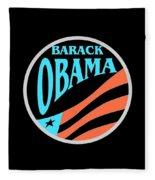 Barack Obama Design Fleece Blanket