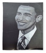 Barack Obama Fleece Blanket