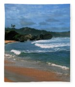 Barbados Berach Fleece Blanket