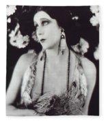 Barbara La Marr Fleece Blanket