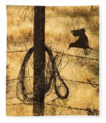 Barbed Landing Fleece Blanket