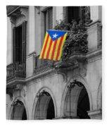 Barcelona - Estelada Fleece Blanket