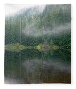 Barclay Lake, Reflected Fleece Blanket