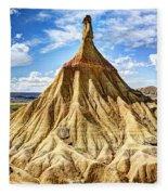 Bardenas Desert Last Man Standing Fleece Blanket