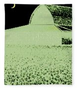 Barn Abstract Fleece Blanket