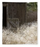 Barn Door Fleece Blanket