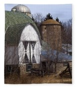 Barn On 29 Fleece Blanket