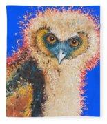 Barn Owl Painting Fleece Blanket