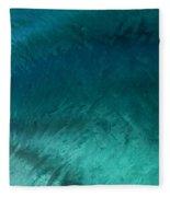 Barrel Swirl  -  Triptych  Part 3 Of 3 Fleece Blanket