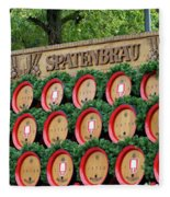Barrels Fleece Blanket