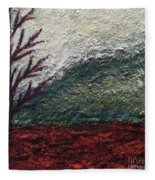Barren Landscapes Fleece Blanket