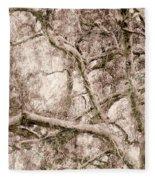 Barren Tree Fleece Blanket