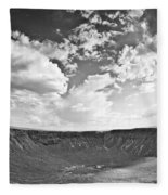 Barringer Meteor Crater Fleece Blanket
