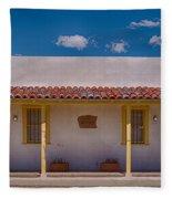 Barrio Viejo Symmetry Fleece Blanket