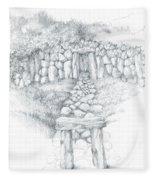 Barrow Tomb Fleece Blanket