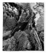 Basalt Textures Fleece Blanket