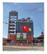 Baseball In Philadelphia - Citizens Bank Park Fleece Blanket