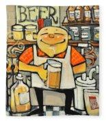 Basement Brewer Fleece Blanket