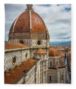 Basilica Di Santa Maria Del Fiore Fleece Blanket