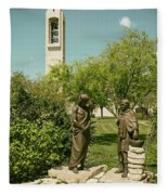 Basilica Of Our Lady Of San Juan Del Valle Fleece Blanket