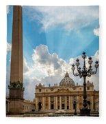 Basilica Papale Di San Pietro Fleece Blanket
