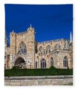 Basilique Notre - Dame De L'epine Fleece Blanket