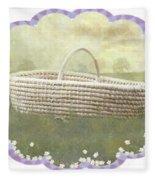 Basket Fleece Blanket