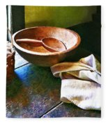 Basket Of Eggs Fleece Blanket