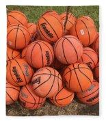 Basketbal Anyone Fleece Blanket