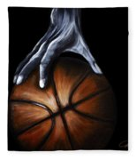 Basketball Legend Fleece Blanket