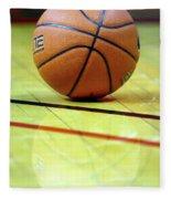 Basketball Reflections Fleece Blanket