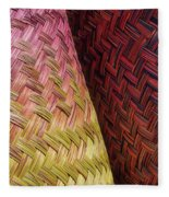 Baskets Of Provence Fleece Blanket