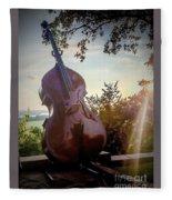 Bass Rhythm And Sound Of A Community  Fleece Blanket