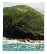 Bass Strait Island Wilderness Fleece Blanket