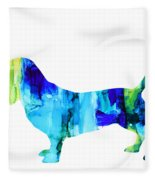 Basset Hound Fleece Blanket